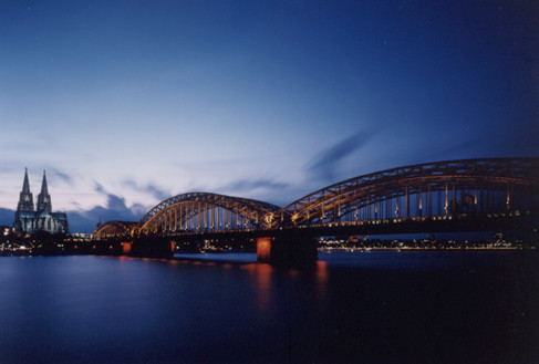Bridge 'Hohenzollern'
