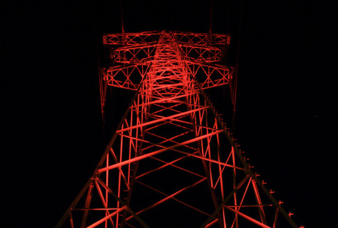Power pylons 'High Voltage'