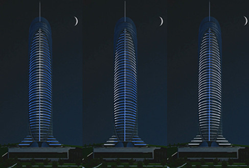 Corporate & Residential building 'Spine Tower'